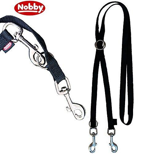 Nobby Führleine Classic, schwarz, Länge 2 m; Breite 20 mm - 2