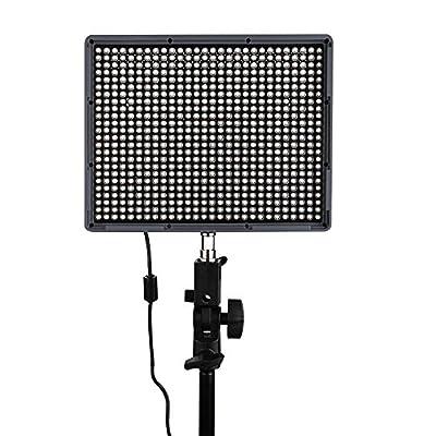 Andoer Aputure® Amaran HR672C A Video Light CRI95+ 672geführte lichtschrank Régler la température Luminosité avec télécommande radio