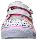 Skechers Step Up-Sparkle Kicks, Baskets Fille