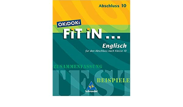 Okidoki Fit In Okidoki Fit In Englisch Für Den Abschluss