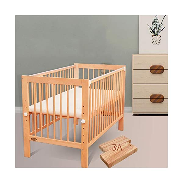 QINYUN Crib Splicing Bed Multi-functional Newborn Bed Solid Wood Baby Bed,D QINYUN 1. Tough bed board excellent load-bearing: Encrypted skeleton full-size wooden bed board design baby mother safe entertainment game 2. Silent walking baby sweet sleep: regular size bed mute caster shuttle unobstructed 3. Designed to grow with your child, the crib bed can be doubled as a baby bed by removing the sides and dropping the ends. 3