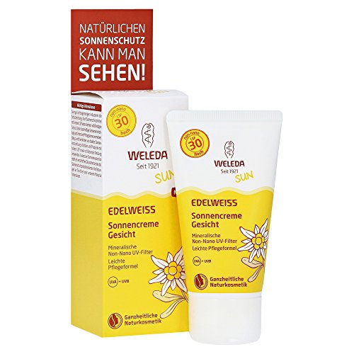 Weleda Edelweiss Sonnencreme Gesicht LSF 30, 50 ml