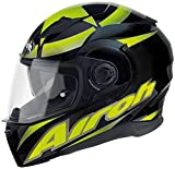 Airoh Movement Shot Helm XS (53/54) Schwarz/Gelb