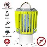 SAMMIU Campinglampe LED Laterne Elektrische Wanze Zapper & Camping Laterne & Taschenlampe 3 IN 1, IP67 Regenschutz Zelt Lichter Mosquito Killer über USB-Aufladung für den Außenbereich und Notfälle