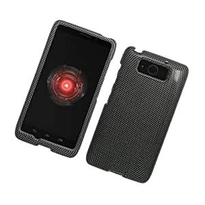Eagle Cell Glossy Protector Case for Motorola Droid Ultra - Retail Packaging - Carbon Fiber