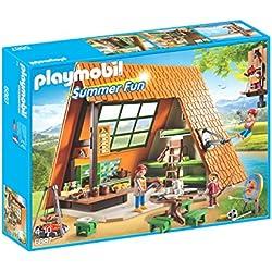Playmobil Campamento de Verano- Camping Lodge Playset,, Miscelanea (6887)