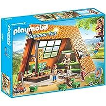 Playmobil Campamento de Verano Camping Lodge Playset, Miscelanea 6887