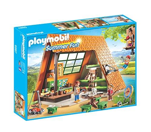 Playmobil Campamento de Verano Camping Lodge Playset,, Miscelanea (6887)