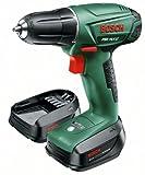 Bosch Perceuse-visseuse sans fil Universal PSR 14,4 LI avec coffret, 2 batteries et chargeur 0603954301
