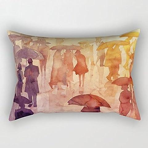 Joann Tissu Halloween - Aquarelle Taie d'oreiller 50,8x 76,2cm/5075cm de cadeau