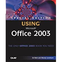 Special Edition Using Microsoft Office 2003 by Ed Bott (2003-09-25)