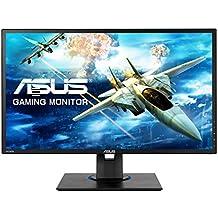 "ASUS VG245HE - Monitor Gaming de 24"" Full HD (1920x1080, 1 ms, Free-Sync, 75 Hz, TN, 16:9, Brillo 250 CD/m2, 2 Altavoces estéreo 2 W RMS, sin Base ergonómica), Color Negro"