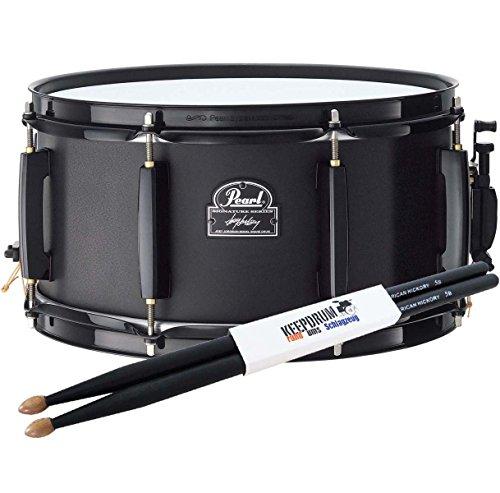 Pearl jj1365N Joey jordison Snare Drum + baquetas Keepdrum 5BB Black