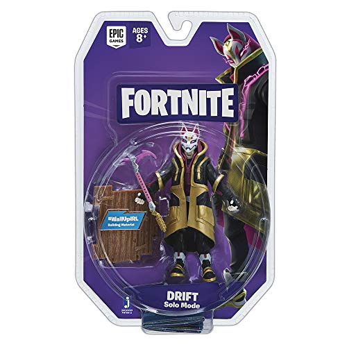 Jazwares- Fortnite Figura Solo Mode Deriva (Drift), (FNT0012)