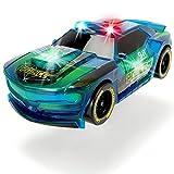 Unbekannt Getuntes Polizeiauto mit Sound und Lichtwechselfunktion in Blau • Polizei Auto Licht Spielzeug Einsatz Fahrzeuge Rennauto