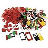 Lego-porte + Fenetre + Chassis Lego Basic - Boite De 278 Pieces [Jouet]