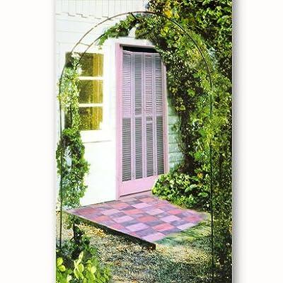 Rosenbogen aus Metall, dunkelgrün von Relaxdays auf Du und dein Garten