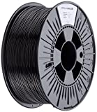 3D Prima PrimaValue PLA Filament, 1.75 mm, 1 kg Spool, Black
