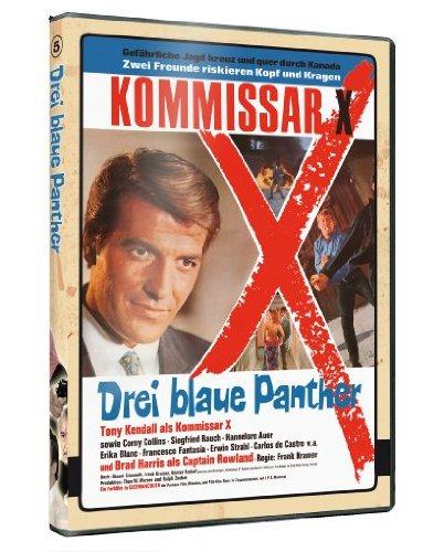 Kommissar X 05 - Drei blaue Panther