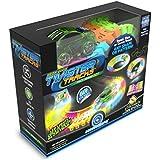 Mindscope presenta il bagliore nel buio traccia Twister-neon, la traccia modulare flessibile su 221 parti (più di 3 metri) Serie di auto da corsa
