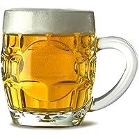Britannia Beer Tankards 10oz / 285ml - Set of 4 | Half Pint Tankard, Britannia Beer Mug