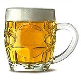 Britannia Bière chopes 283,5gram/285ml–Lot de 4| Demi Chope à bière, Britannia Mug à bière