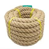 Aoneky Cuerda de Yute Natural - 15/30M, 20-50mm, Cuerda...