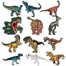 Czemo Parches Ropa Termoadhesivos Infantiles Dinosaurios Patch Sticker Parches para la Camiseta Jeans Ropa Bolsas,