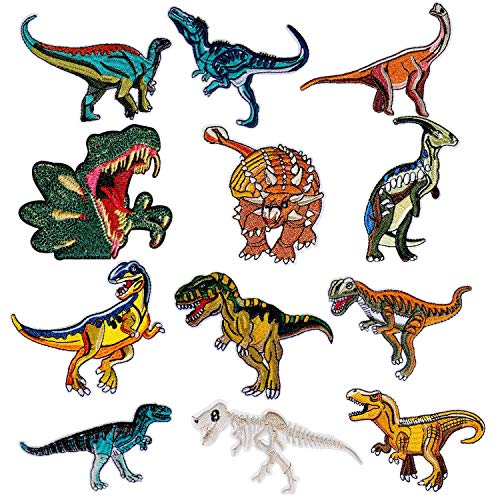 Czemo Parches Ropa Termoadhesivos Infantiles Dinosaurios