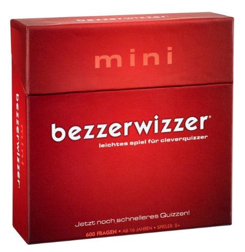 Mattel Games BGG09 Bezzerwizzer Mini, Familienspiel und Quiz geeignet für 2 - 4 Spieler, Spieldauer ca. 10 Minuten, ab 16 Jahren