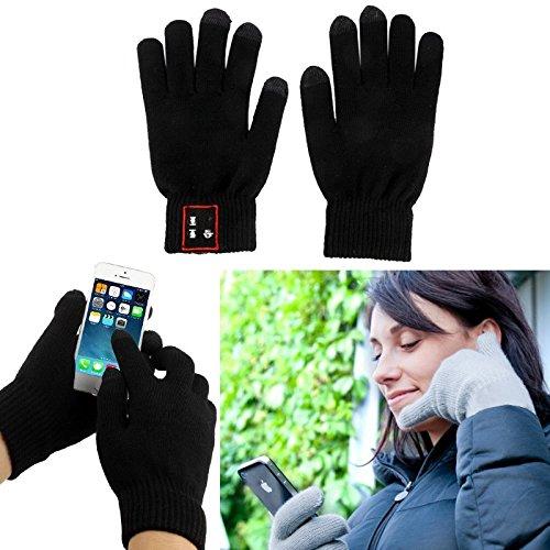 Guanti Senza Fili con Connettività Bluetooth 3.0 - Regalo Originale -...