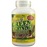 Natures Plus SOURCE OF LIFE GREEN LIGHTNING Vegetarian Capsules 180