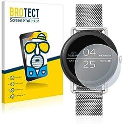 Skagen Smartwatch Falster (42mm) Protector Pantalla Mate [2 Pack] Pelicula Protectora