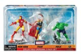 Marvel Diorama 3 Pack - Iron Man, Thor, and Hulk