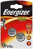 LOT DE 2 PILES ENERGIZER CR2450 - 1 BLISTER DE 2 - LITHIUM 3V