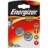 LOT DE 6 PILES ENERGIZER CR2450 - 3 BLISTER DE 2 - LITHIUM 3V