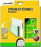 Schellenberg 66332 Premium Primatermo Joint de fenêtre avec Profilé en P 10 m Blanc