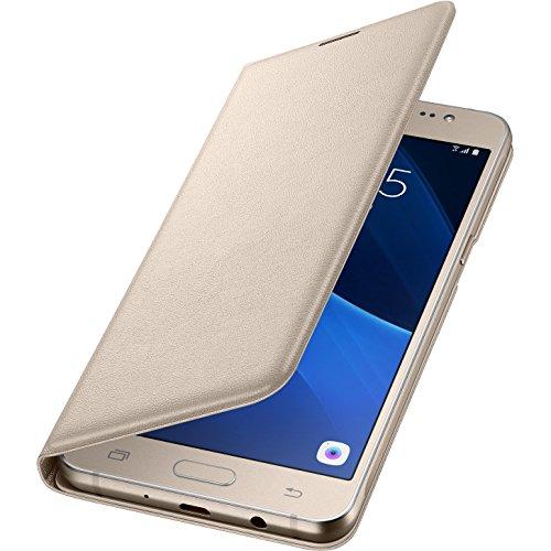 Samsung Flip Wallet Schutzhülle (geeignet für Samsung Galaxy J5 (2016)) gold Samsung Galaxy S Duos Cover