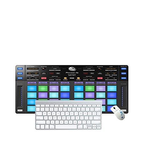 Haofengjing Mauspad Cool Dj Plattenspieler Muster Große Gaming Mouse Pad Rastkante Mousepad Tastatur Matte Tisch, 300X800X3Mm (Plattenspieler Cool)