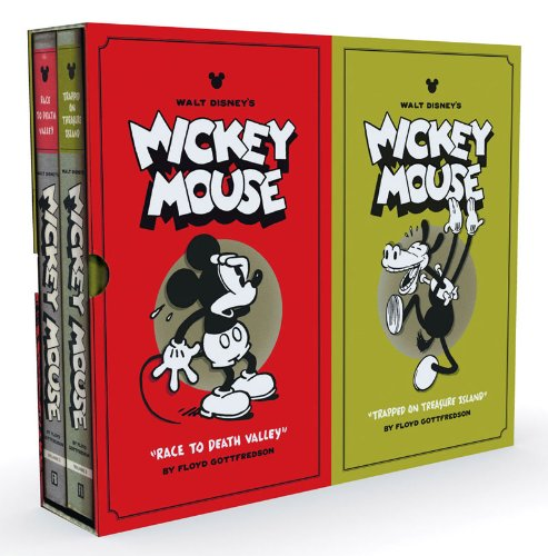 WALT DISNEY'S MICKEY MOUSE VOL 1 &2 BOX SET