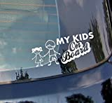 Meine Kinder On Board???Baby on Board, Little Baby Heart Kids Auto Aufkleber Drift Bumper Window Auto Funny Vinyl Van Laptop Love Herz Decor Home Live Kids Funny Art Wand Aufkleber Aufkleber
