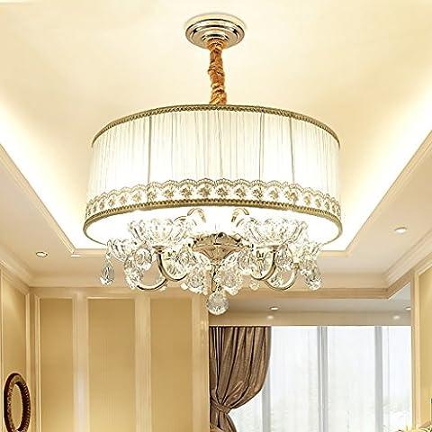 Moderne Haus Deckenleuchte Befestigung Kristall Anhänger Kronleuchter Beleuchtung Für Wohnzimmer Esszimmer Schlafzimmer Beschichtung 5 Lichter E14 Lichtquelle (nicht Tragen E14 Lichtquelle)