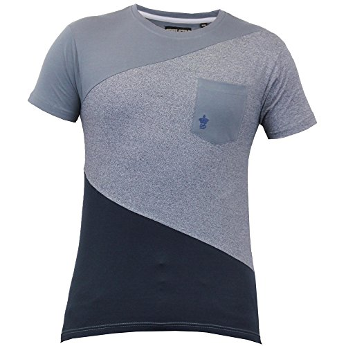 Uomo Maniche Corte A Rete T-shirt By Soul Star Carbone - QUINPKB