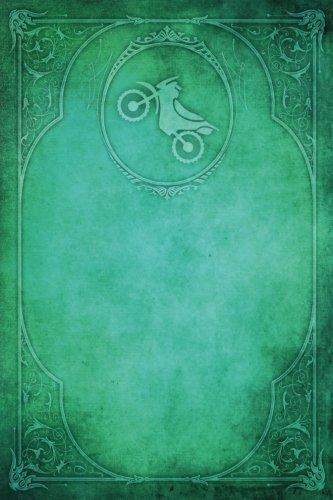 Monogram Motocross Notebook: Blank Diary Journal Log: Volume 60 (Monogram Elegance 150 Lined) por N.D. Author Services