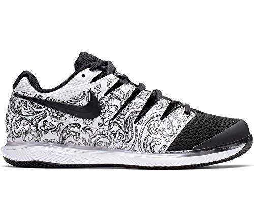 Nike Wmns Air Zoom Vapor X HC, Scarpe da Tennis Donna, Bianco (White/Black 000), 38 EU