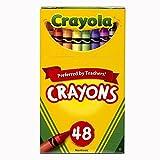 Crayola 48 CT Crayons, Multi Color