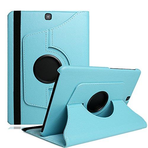 Preisvergleich Produktbild Galaxy Tab A 9.7 zoll Case,TechCode Galaxy Tab A 9.7 ,360° Drehbarer Hülle Galaxy Tab A 9.7 Hülle Schutzhülle Tasche Etui mit Ständer Funktion und Eingebautem Magnet für Einschlaf/Aufwach für Samsung Galaxy Tab A (9.7 Wi-Fi T550N / LTE T555N) Smart Case Cover