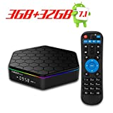 T95Z Plus Android 7.1 TV Box Octa Core 64 Bits Smart TV Box 3GB DDR3 32GB Emmc 2.4G/5Ghz Wifi 1000M LAN Ethernet H.265 Bluetooth 4.0 DLNA UHD 4K