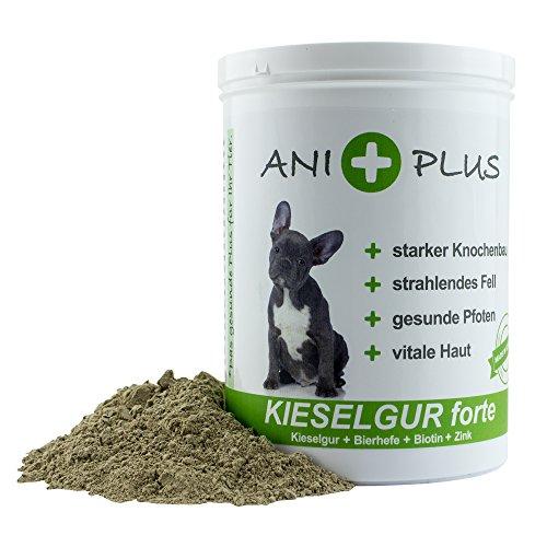AniPlus – Kieselgur forte 400 g für Hunde unterstützt die Fell- und Hautbeschaffenheit mit wertvollem Silizium (100% biologisch) - 2