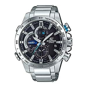 Casio Edifice Analog Black Dial Men's Watch - EQB-800D-1ADR (EX402)